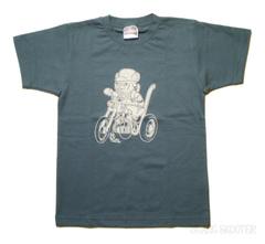 Scarface Bear デニム キッズTシャツ 110/130サイズ