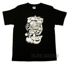 スポーツスターエンジン 黒 Tシャツ