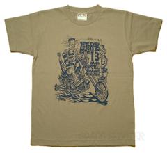 Franken Chopper マットグレー Tシャツ