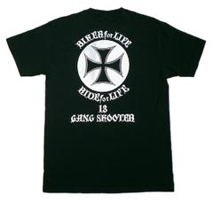 アイアンクロス 黒 Tシャツ