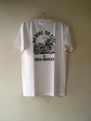 WL BOBBER MACHINE 白 Tシャツ メンズLサイズ(B品)