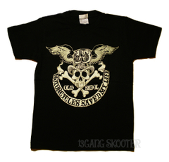 Wing hat Crossbone Tシャツ