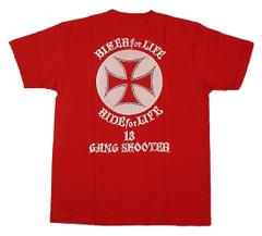 アイアンクロス 赤 Tシャツ