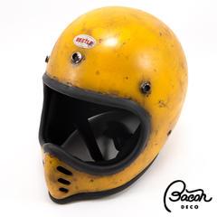 BACONヘルメット BEETLE MTX イエロー ナチュラルエイジング