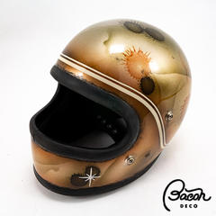 BACONヘルメット OCEANBEETLE STR ブラウン