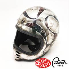 BACONヘルメット BEETLE MTX クロームエディション
