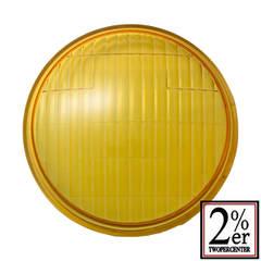 【4.5inch Head Light Lens Yellow】4.5インチ ヘッドライト レンズ イエロー【ガラス製】