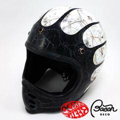 BACONヘルメット BEETLE MTX ホワイト/ブラック