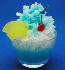 MKM060014B ミニカキ氷~フルーツ入りかき氷ブルーハワイフルーツ