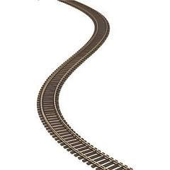 ATL #100 フレキシブル(木製)線路