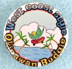 缶バッジ・Okinawan Budgie