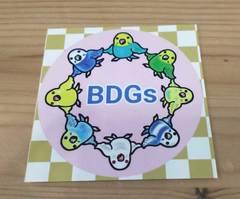 BDGsステッカー