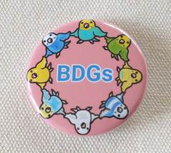 BDGs缶バッジ