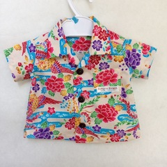 ベビーアロハシャツ・鳳凰・受注製作