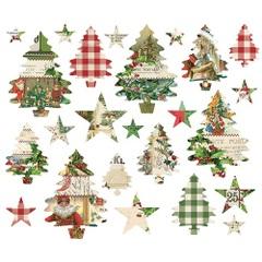 シンプルストーリー; クリスマスツリーダイカット