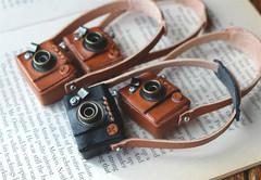 豆1眼レフカメラ(ドール小物)
