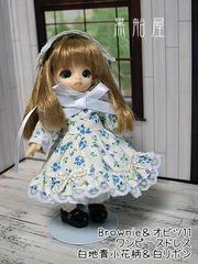 Brownie&オビツ ワンピーススカートとヘッドドレスのセット