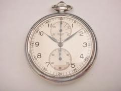 AO-19 ホイヤー クロノグラフ懐中時計