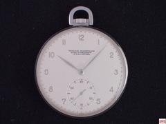 AT-18 ラ・ショー=ド=フォン スクールウォッチ 懐中時計 スケルトン裏蓋付き
