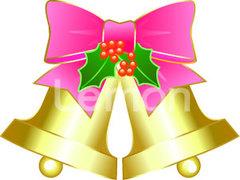 No.06 クリスマス ベル 柊つき ピンク 【AI】