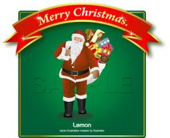 No235 クリスマス サンタクロース 【AI】