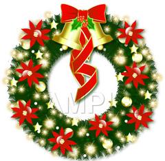 No247 クリスマス リース