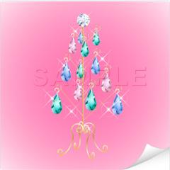 No460 クリスマスツリー キラキラ・ジュエリー