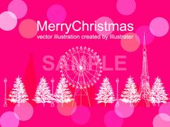 No.836 クリスマス イラスト 【AI】