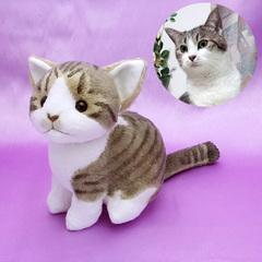 猫ぬいぐるみ「ねこにゃ」オーダーメイド