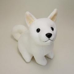 柴犬ぬいぐるみ(白) しばわんこ 白犬