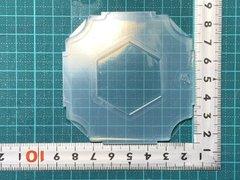 40「六角形プレート」レジン用モールド