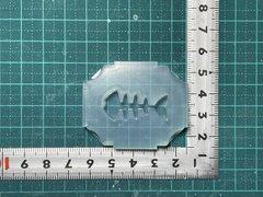 30 「魚の骨」レジン用モールド