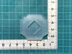 15「角丸四角」レジン用モールド
