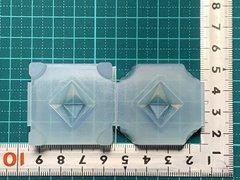 20「双六角錐ペンデュラムC」レジン用モールド