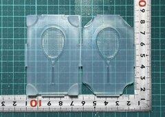 50「テニスラケット」レジン用モールド