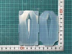 60「センターライン付きドロップペンデュラム」レジン用モールド