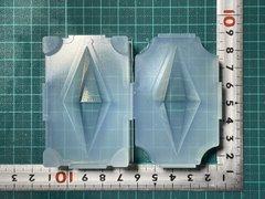 60「双六角錐ペンデュラムA」レジン用モールド