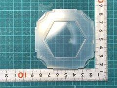 50「六角形プレート」レジン用モールド