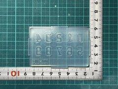 FIG-001「数字混合」レジン用モールド