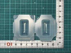 30「ぷっくり長方形」レジン用モールド