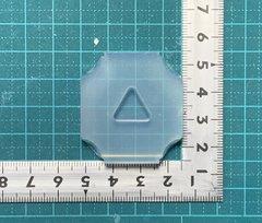 15「角丸三角」レジン用モールド