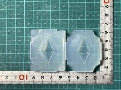 30「双円錐」レジン用モールド