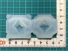 20「双六角錐ペンデュラムD」レジン用モールド