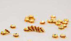 4x2 波型ロンデル(ゴールド) ヒヤシンス