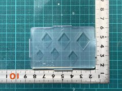 PTR-003「プレートトランプ(ダイヤ)」サイズ混合モールド