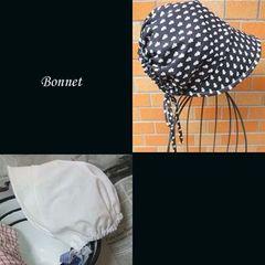 【紙:旧】Bonnet フルサイズパターンとガイド
