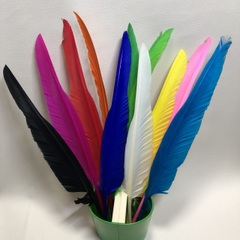 羽ボールペン