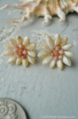 Rice Shell Flower Pierce No,10