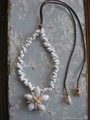 Atys & Rissoina TOP white Mongo Necklace
