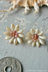 Rice Shell Flower Pierce No,9